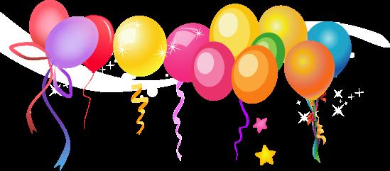Znalezione obrazy dla zapytania balony urodzinowe